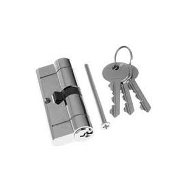Tessi Snap Safe Door Cyclinder 45 / 45 - Chrome | TKD6A