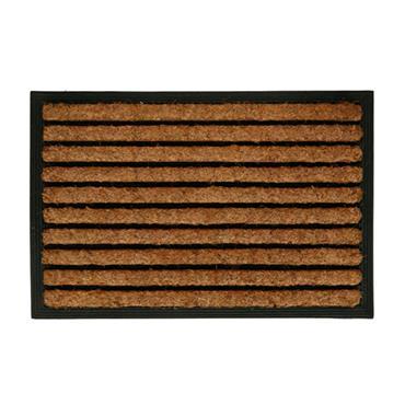 Dosco KOKO Rubber Back Doormat with Coir Strips 60cm x 40cm | 29935