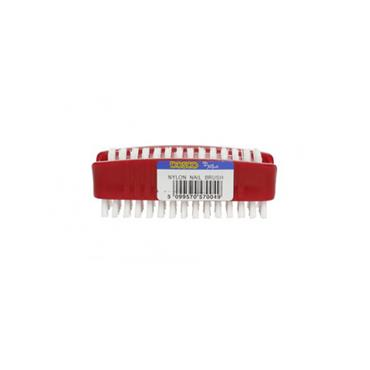 Dosco Double Nylon Nail Brush Red | 57004
