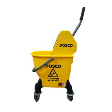 Dosco 26 Litre Kentucky Mop Bucket with Whinger - Yellow | 65408
