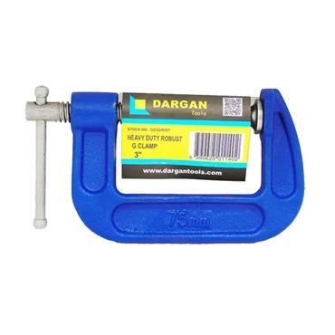"""DARGAN 3"""" HEAVY DUTY ROBUST G CLAMP"""