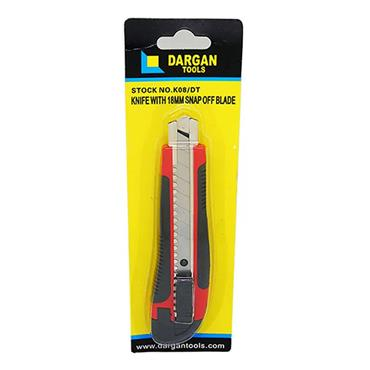 Dargan 18mm Snap Off Knife | K08/DT