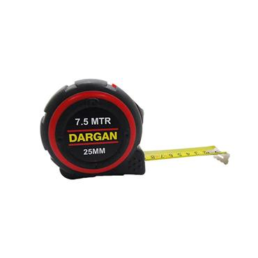 Dargan 7.5 Metre Neon Rubber Measuring Tape | MT7.5NR/DT
