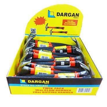 Dargan 16oz Claw Hammer and 20oz Ripping Hammer | HRC1620