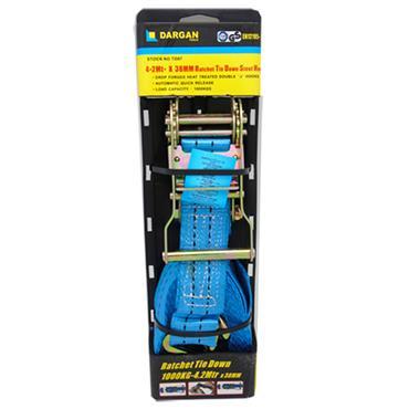 Dargan Ratchet Strap Tie Down 4.2 Metre x 38mm | TD07