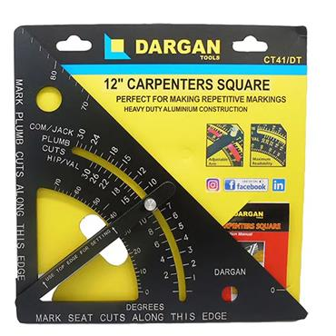 "Dargan 12"" Carpenters Speed Square 