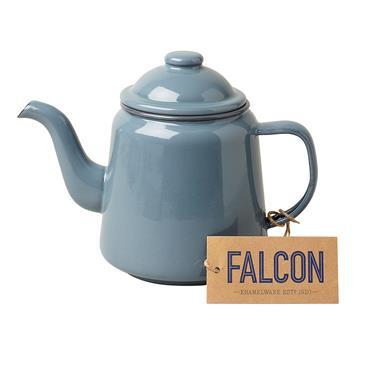 Falcon Grey Enamel 14cm Teapot | EN0028G