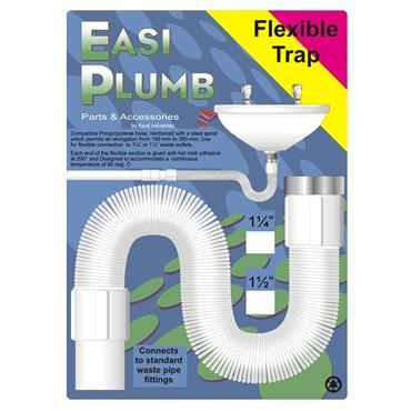 "Easi Plumb 1 1/4"" Flexible Sink Trap | EP114FT"