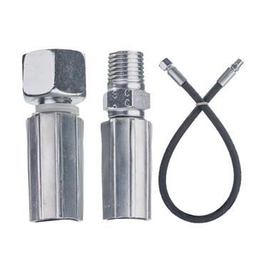"Easi Plumb 1/4"" M x 1/4"" F x 500mm Replacement Oil Line Hose | EPOL5"