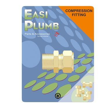 "Easi Plumb 1/2"" x 3/4"" M.I. Straight Coupling 311 | EP3111234"