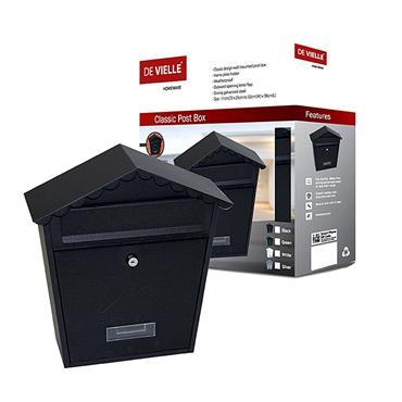 DE VILLE CLASSIC POST BOX BLACK   TSH001Z
