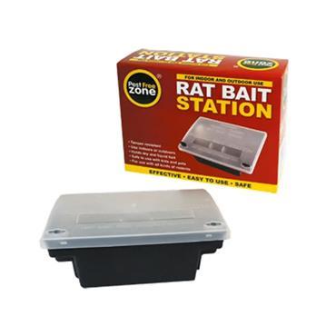 Pest Free Zone Rat Bait Station Box   PFZ312