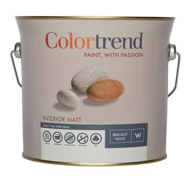 Colourtrend 3 Litre Interior Matt - White   M00809