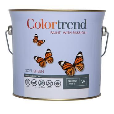 Colourtrend 3 Litre Soft Sheen - White   M00828