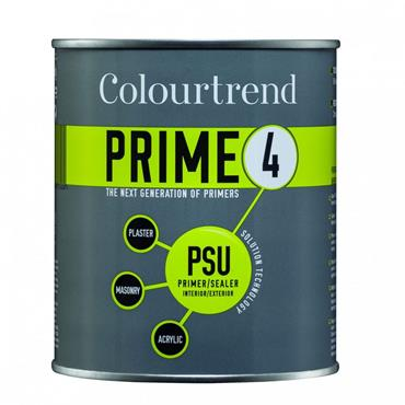 Colourtrend 750ml Prime 4 PSU Primer Sealer - White | M01295