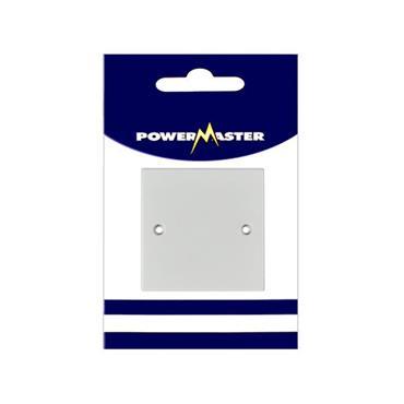 Powermaster 1 Gang Single Blanking Plate | 1522-00