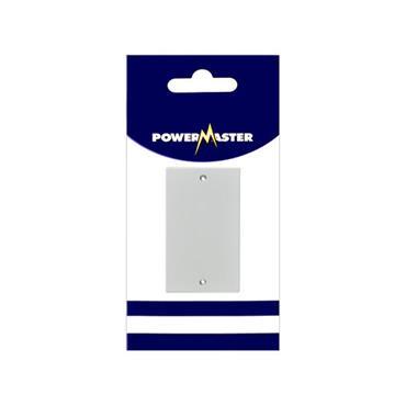 Powermaster 2 Gang Double Blanking Plate | 1522-02