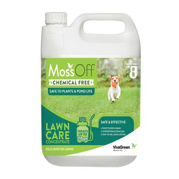 Moss Off Chemical Free Lawn Moss Killer Concentrate 5 Litre