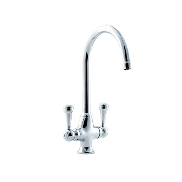 Sanbra Fyffe Dual Flow Cruciform Sink Mixer Tap   580324