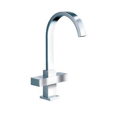 Sanbra Fyffe Square Head Mono Sink Mixer Sink Tap   580079