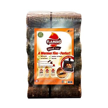 FLAMERS WOOD LOGS 6 PACK