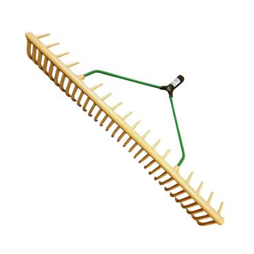 YELLOW PLASTIC RAKE HEAD 32 TOOTH