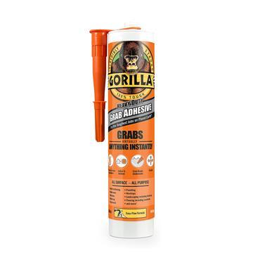 Gorilla Heavy-Duty Grab Adhesive - White 290ml