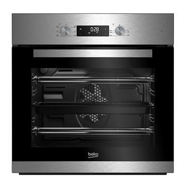 Beko Built-In Multifunction Single Oven - Stainless Steel | BNIE2300XD