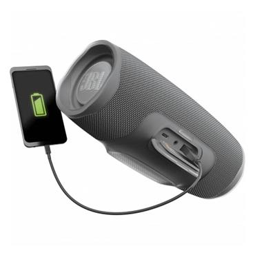 JBL Charge 4 Bluetooth Speaker - Grey | JBLCHARGE4GRY