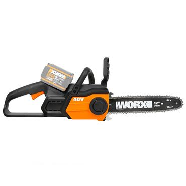 WORX Power Share Cordless Chain Saw - 30cm - 2 x 20V Batteries Included | 270511