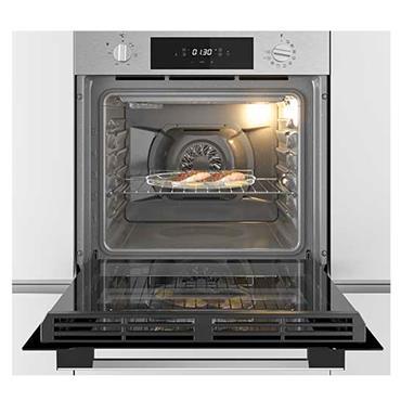 Hoover 65 Litre Pyrolytic Built-In Single Oven - Black | HOC3T5058BI