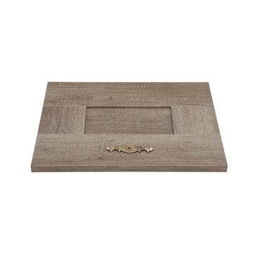 Bronze Giulio cabinet knob backplate 96mm | 0309010
