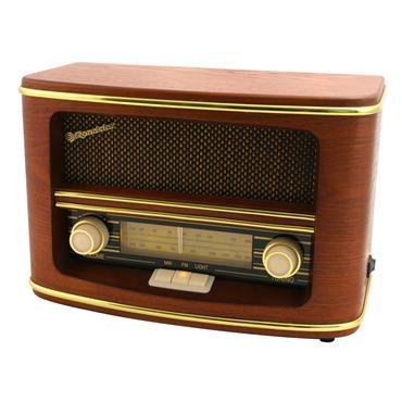 Roadstar FM AM Wood Effect Desk Radio | ROAHRA-1500