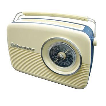 Roadstar Vintage Style Radio Cream | ROATRA-1957CR