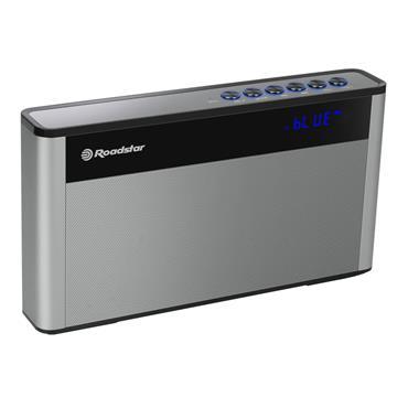 Roadstar Portable FM USB Bluetooth Radio - Silver | TRA-570US
