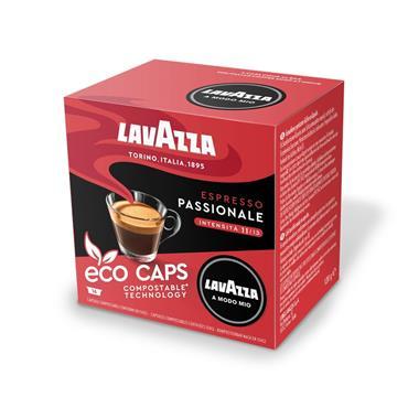 Lavazza Espresso Passionale Compostable Coffee Pods Capsules 16 Pack | 8970