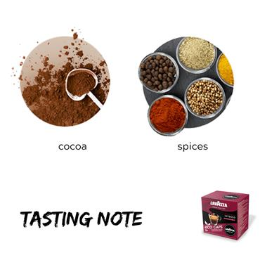 Lavazza Espresso Intenso Compostable Coffee Pods Capsules 16 Pack | 8972