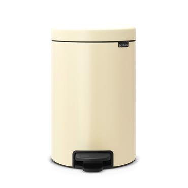 Brabantia 12 Litre New Icon Pedal Bin - Almond | 113468