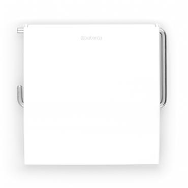 Brabantia Toilet Roll Holder - White   414565