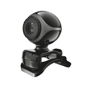 Trust Exis Webcam with Built in Microphone  - Plug and Play | T17003