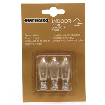 Spare Bulbs for 7 Light Candlebridge Candle Arch 3 Pack | 500291