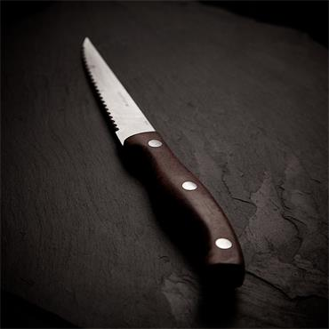 Steak Knife (Wooden effect)