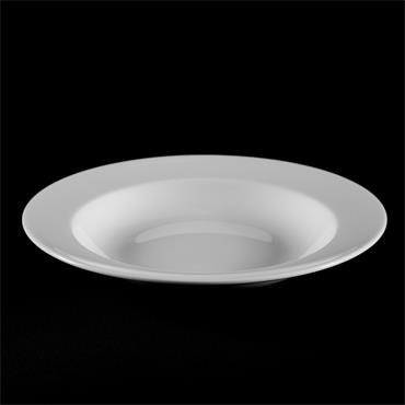 """Soup/Pasta Plate Wedgwood 9""""/22.5cm (10 per pack)"""