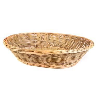 """Buffet Bread Basket Wicker 24""""x13"""""""
