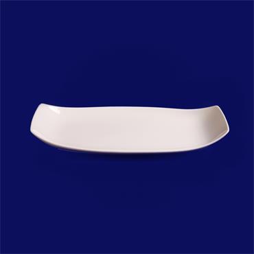 "Pagoda Plate 11""/28cm X6""/15cm"