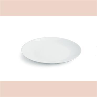 """Round Platter (white) 36cm/14"""" Diameter"""