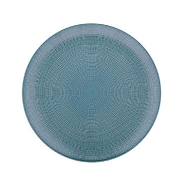 "Blue Side Plate 6""/16cm"
