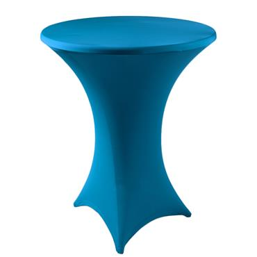 Spandex Turquoise (Price not inclusive of high table)