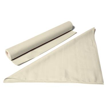 Napkins On Roll Natural White 40cmSq(Qty 25)