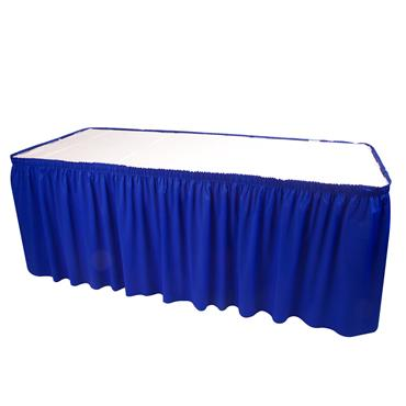 Skirting Blue 21' length (requires 20 clips)